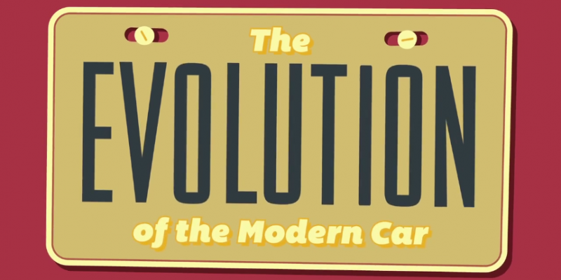 Motion Graphic: History of the Modern Car